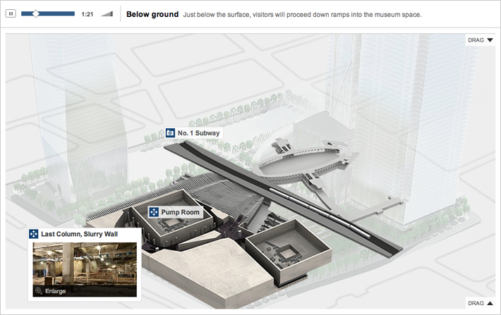Reviving Ground Zero Below Ground
